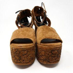 754e98f8ae58 Sigerson Morrison Shoes - Sigerson Morrison Beia Platform Sandals Brown